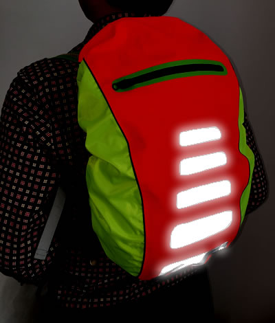 0d2e6e06c89 Fluo Overtrek Beschermhoes. safety-backpack-cover-for-bicycle -sports_1406773295